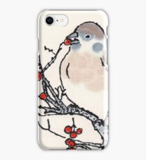 Winter Sparrow iPhone Case/Skin