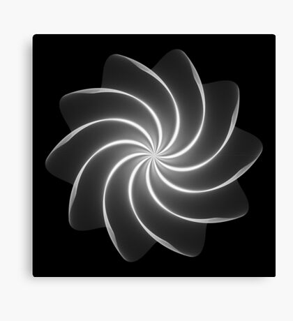 Polar Flower 002 Canvas Print