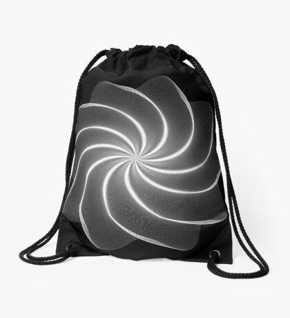 Polar Flower 002 Drawstring Bag