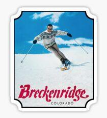Breckenridge Colorado Vintage Travel Decal Sticker