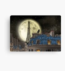 The Wolf of Paris Canvas Print