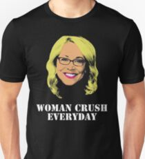 Camiseta ajustada Doris Burke Woman Crush Everyday Drake