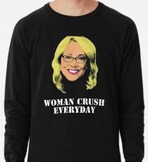 Doris Burke Woman Crush Everyday Drake  Lightweight Sweatshirt