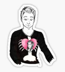 Jeff <3s Annie Sticker