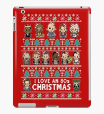 lil 80s Movie Christmas Jumper iPad Case/Skin