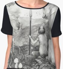 Between the roots and the branches Women's Chiffon Top
