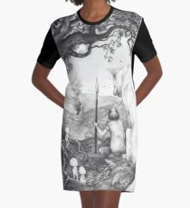 Between the roots and the branches Graphic T-Shirt Dress