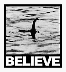 The Loch Ness Monster - Believe Photographic Print