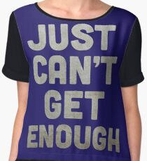 Just Can't Get Enough Women's Chiffon Top