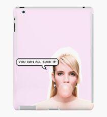 """Scream Queens: """"You Can All Suck It!"""" iPad Case/Skin"""