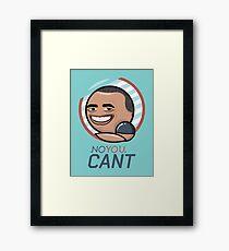 BO Sarcasm Framed Print