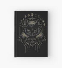 Schwarze Katze Kult Notizbuch