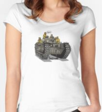 The Dogs of War: Churchill Tank Women's Fitted Scoop T-Shirt