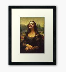 Mr Bean - Mona Lisa Framed Print