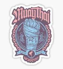 Muay Thai Fist Sticker