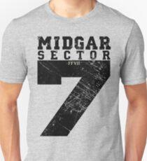 Midgar Sector 7 - Black Edition T-Shirt
