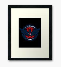 dc united Framed Print