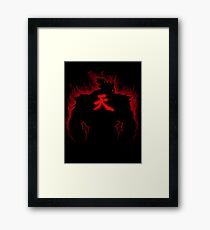 Akuma: Raging Demon Framed Print