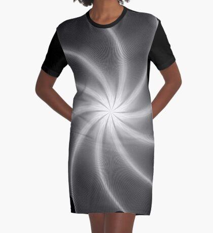 Polar Flower 003 Graphic T-Shirt Dress