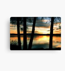 July Sunset 3 Canvas Print