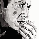 Portrait of Jeff Goldblum by Jeremy Boland