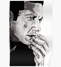 Portrait of Jeff Goldblum Poster