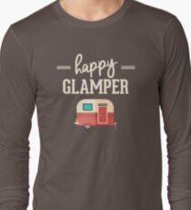 Happy Glamper - Glamping Camping T-Shirt