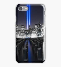 911 Memorial Lights iPhone Case/Skin