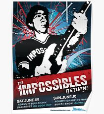 The Impossibles Return Poster - 6/9/12 & 6/10/12 Poster