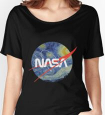 NASA Starry Worm Women's Relaxed Fit T-Shirt