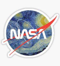 Pegatina Gusano estrellado de la NASA