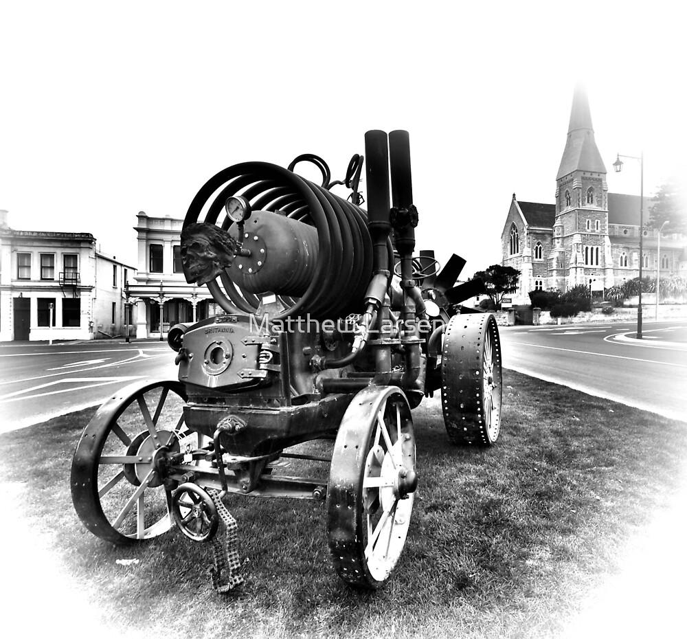 Oamaru Steampunk tractor #2 by Matthew Larsen