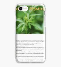Herbal Calendar Teas- Cover iPhone Case/Skin
