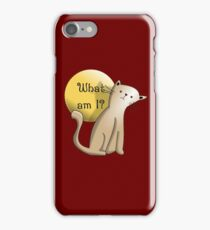 Existential Angst iPhone Case/Skin