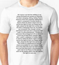 Demon limbs lyrics Unisex T-Shirt
