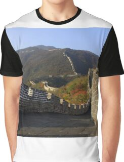 The Great Wall of China Graphic T-Shirt