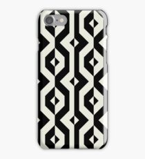 Modern bold print with diamond shapes iPhone Case/Skin