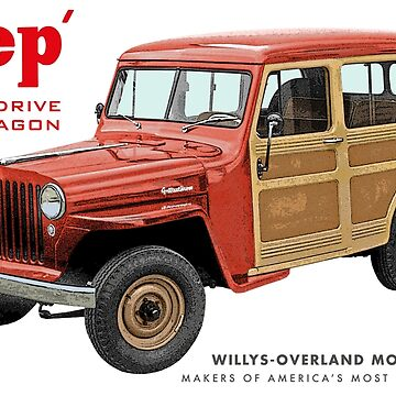 Jeep Wagons by quarksbar
