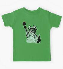 CATue of Liberty Kids Tee