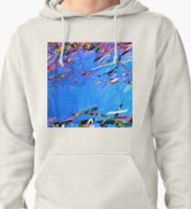 Summer Time (by the pool) Pullover Hoodie