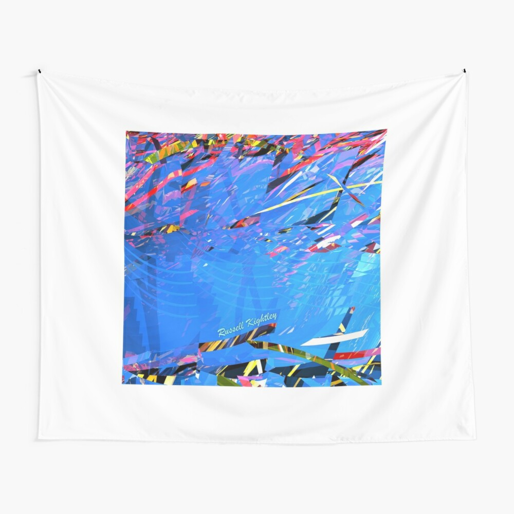 Summer Time (by the pool) Wall Tapestry