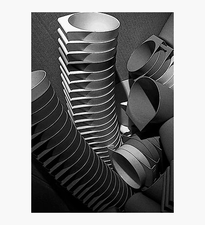 cups runneth over Photographic Print