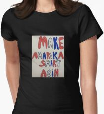 Think about it! Women's Fitted T-Shirt