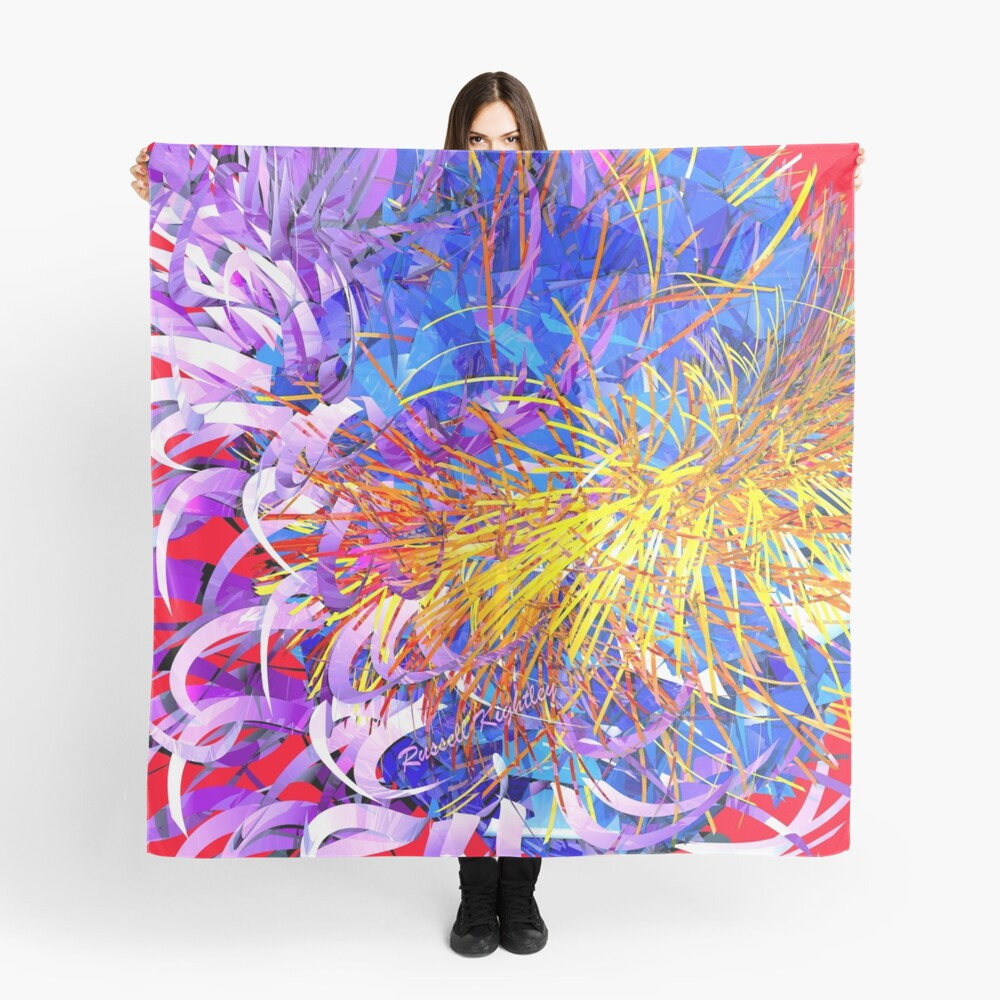 Spring Time (wild bloom) Scarf