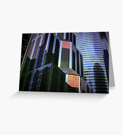 Architectural Patterns Greeting Card
