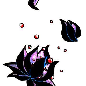 darkest lotus (no background) by HiddenStash