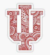 Indiana University Sticker