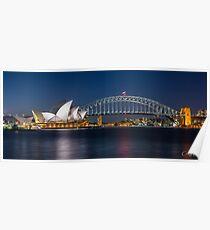 Sydney Icons Poster