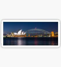 Sydney Icons Sticker