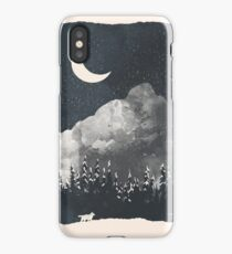 Winter Finds the Wolf... iPhone Case/Skin